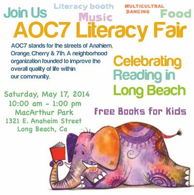 AOC7 Literacy Fair 2014 Main Image