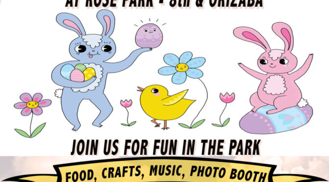 Sunday will be fun in Rose Park!
