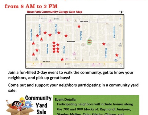 Can't find what you want at the big chain stores, can't wait for Amazon to deliver – then the Community Yard Sale is perfect!