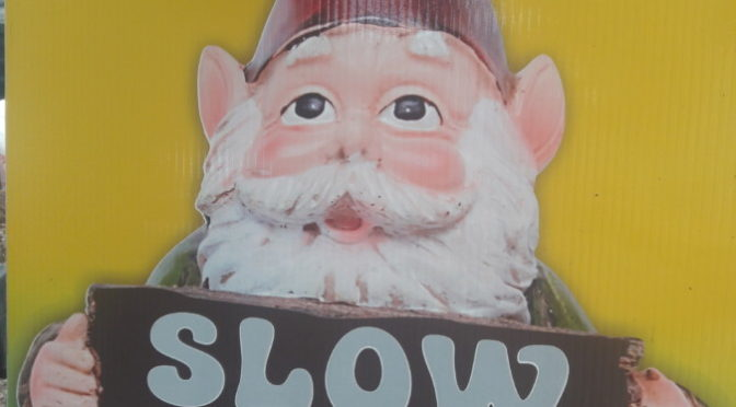 How the Gnome Stole Rose Park and other Holiday Notes