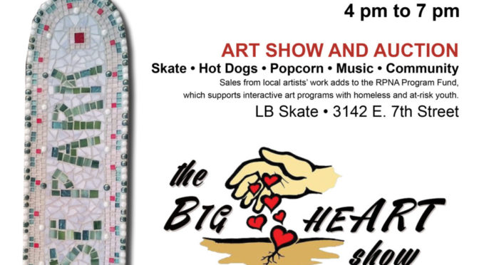 Skate Zone and Art Exhibit – March 22 4pm to 7pm E7th & Obispo
